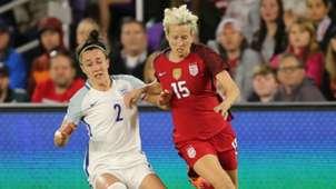 Lucy Bronze Megan Rapinoe U.S. women England women