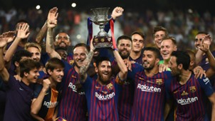 Lionel Messi Sevilla Barcelona Supercopa España