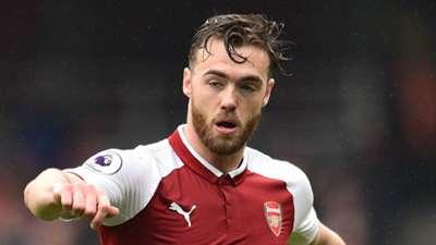 Calum Chambers Arsenal 2017-18