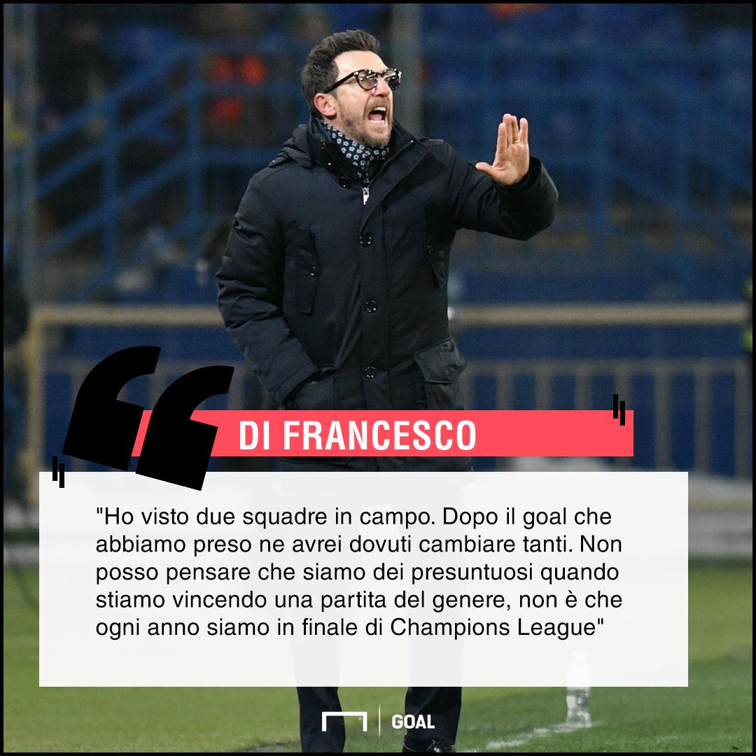 PS Di Francesco Shakhtar Roma
