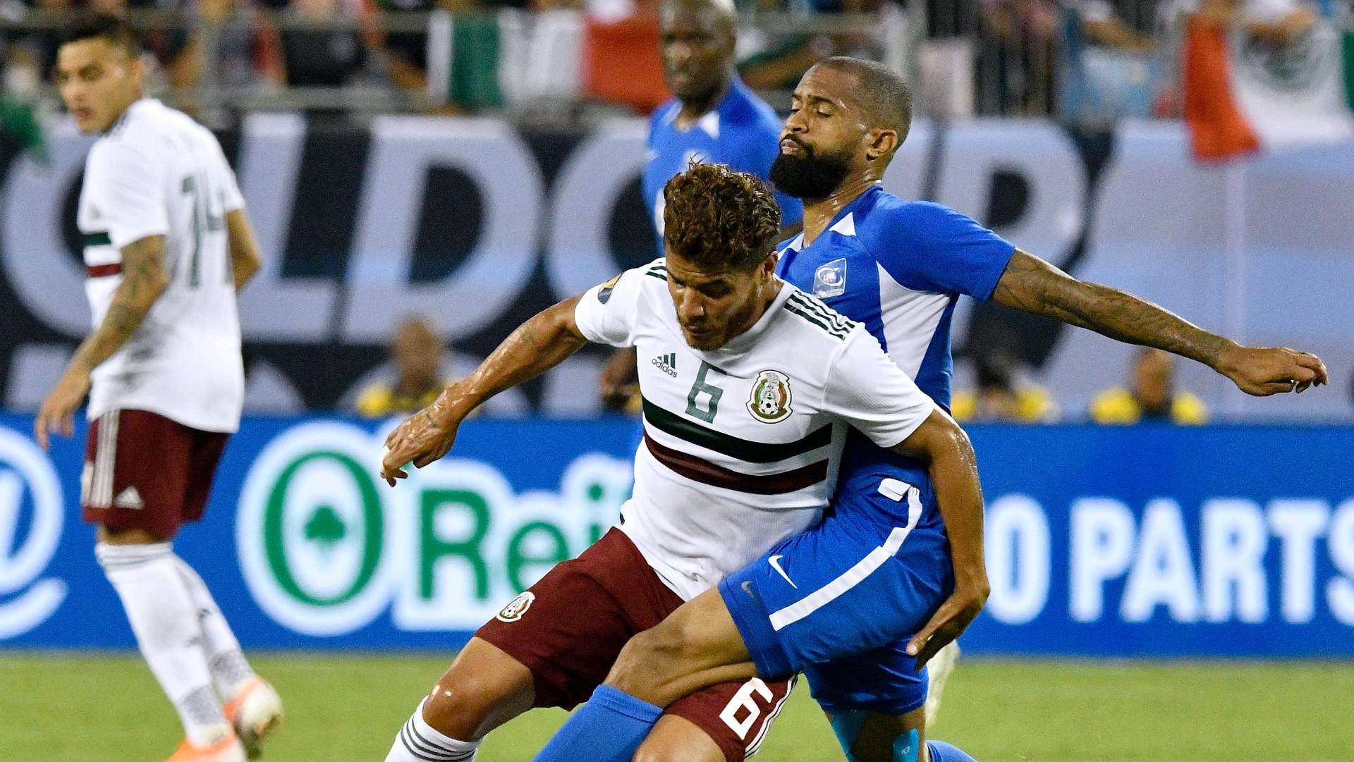 México Martinica Selección mexicana Jonathan Dos Santos