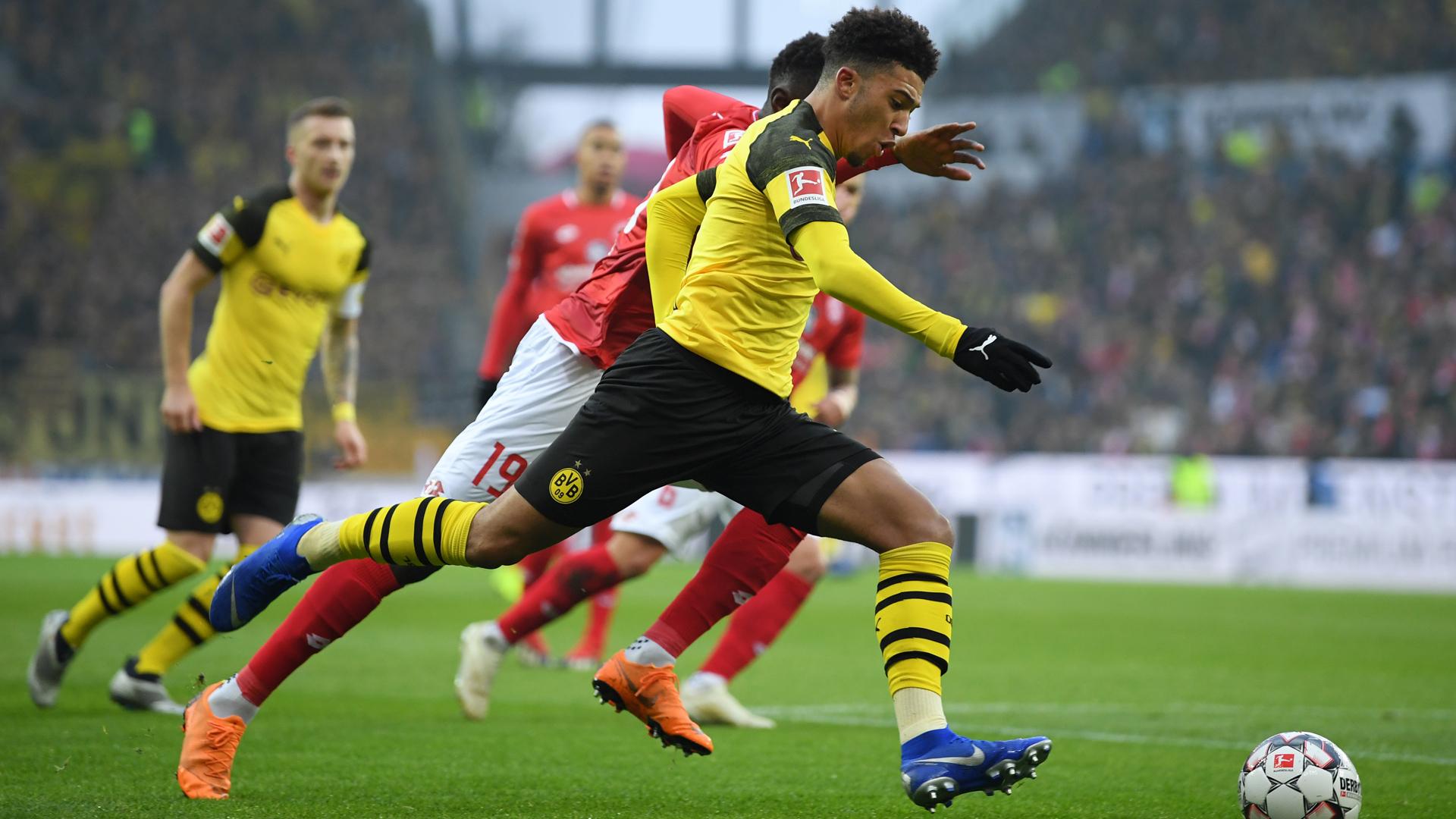 Borussia Dortmund Mainz Jadon Sancho 24112018