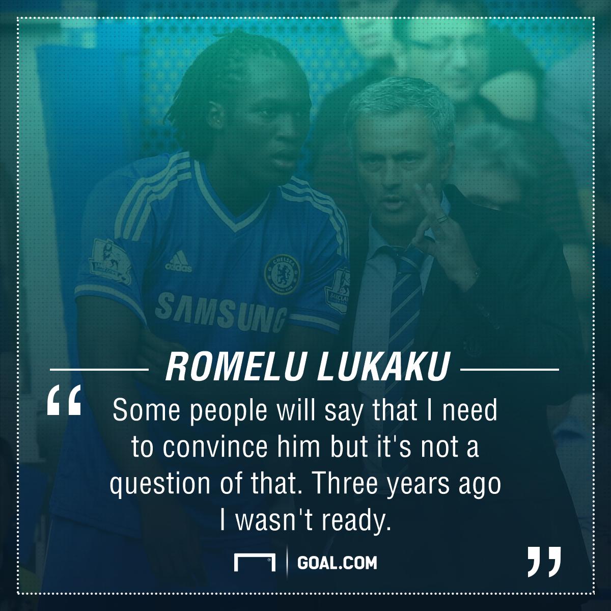 Romelu Lukaku Jose Mourinho