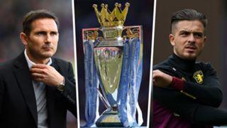 Frank Lampard Jack Grealish play-off Premier League