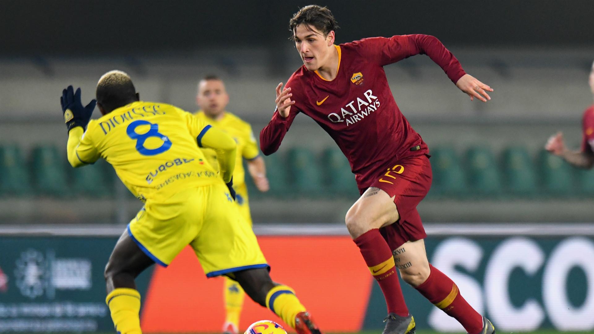 Nicolò Zaniolo Dioussè Chievo Roma Serie A