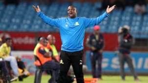 Mamelodi Sundowns v SuperSport United, April 2019 Pitso Mosimane