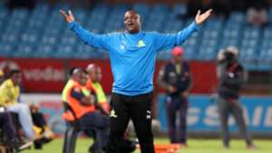 Mamelodi Sundowns v SuperSport United, April 2019 Pitso Mosimane
