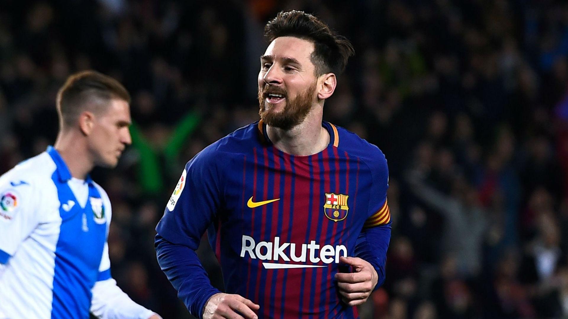 Lionel Messi Barcelona Leganes