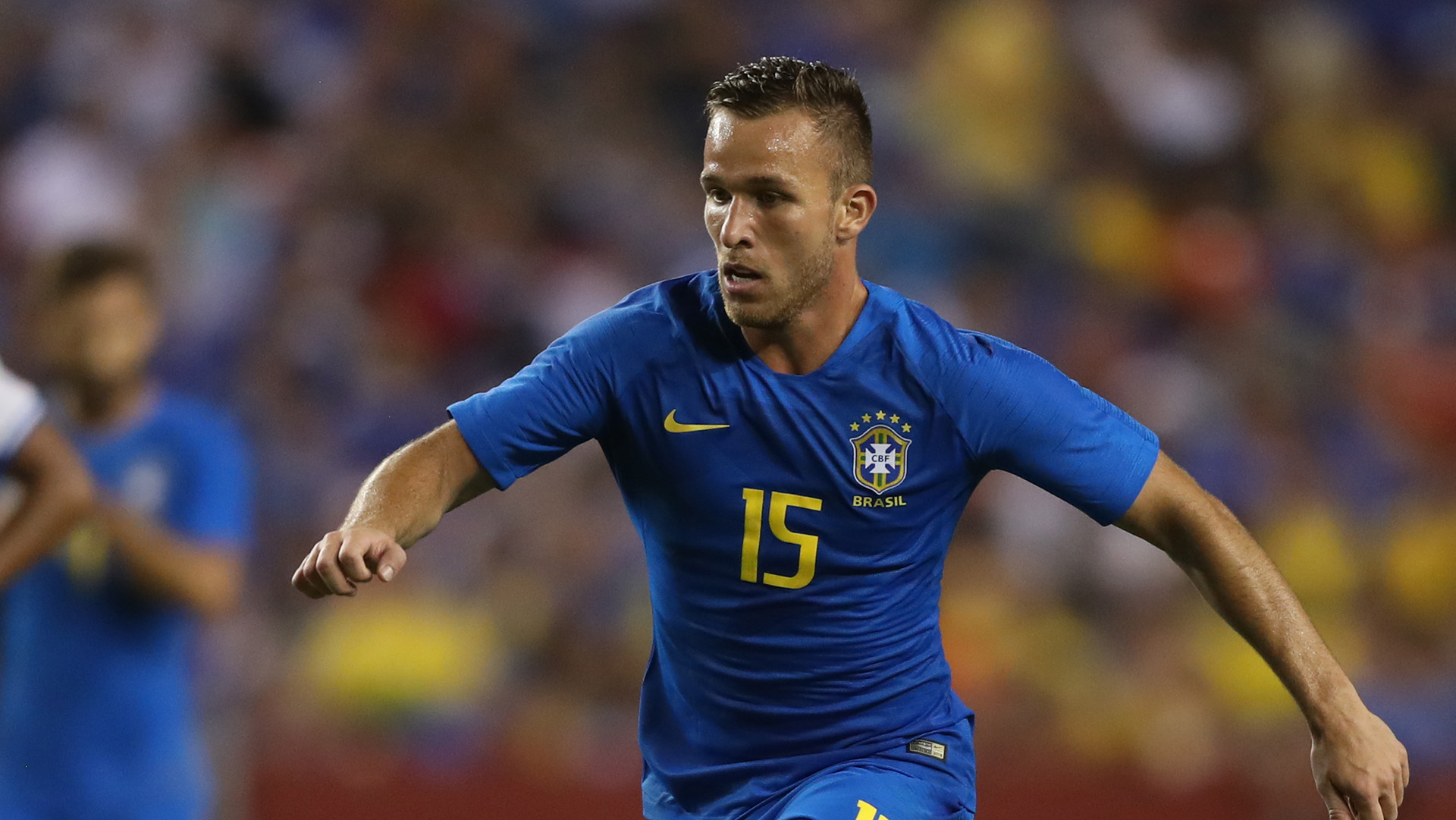 Arthur Brazil El Salvador Friendly 11092018