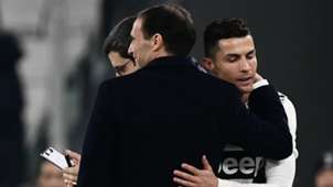 Massimiliano Allegri Cristiano Ronaldo Juventus Frosinone