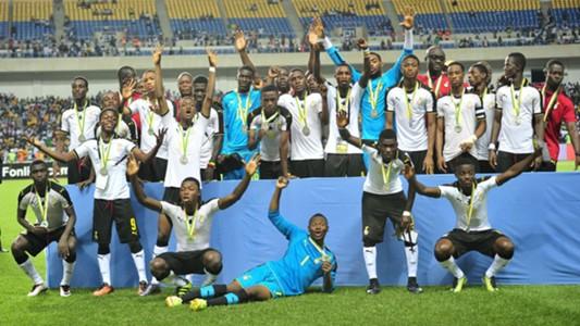 Ghana U17 team