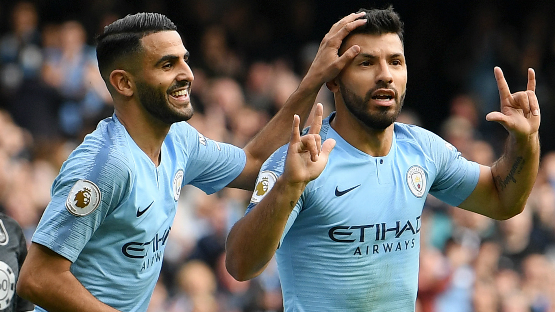 Manchester City's Riyad Mahrez Pleased With West Ham