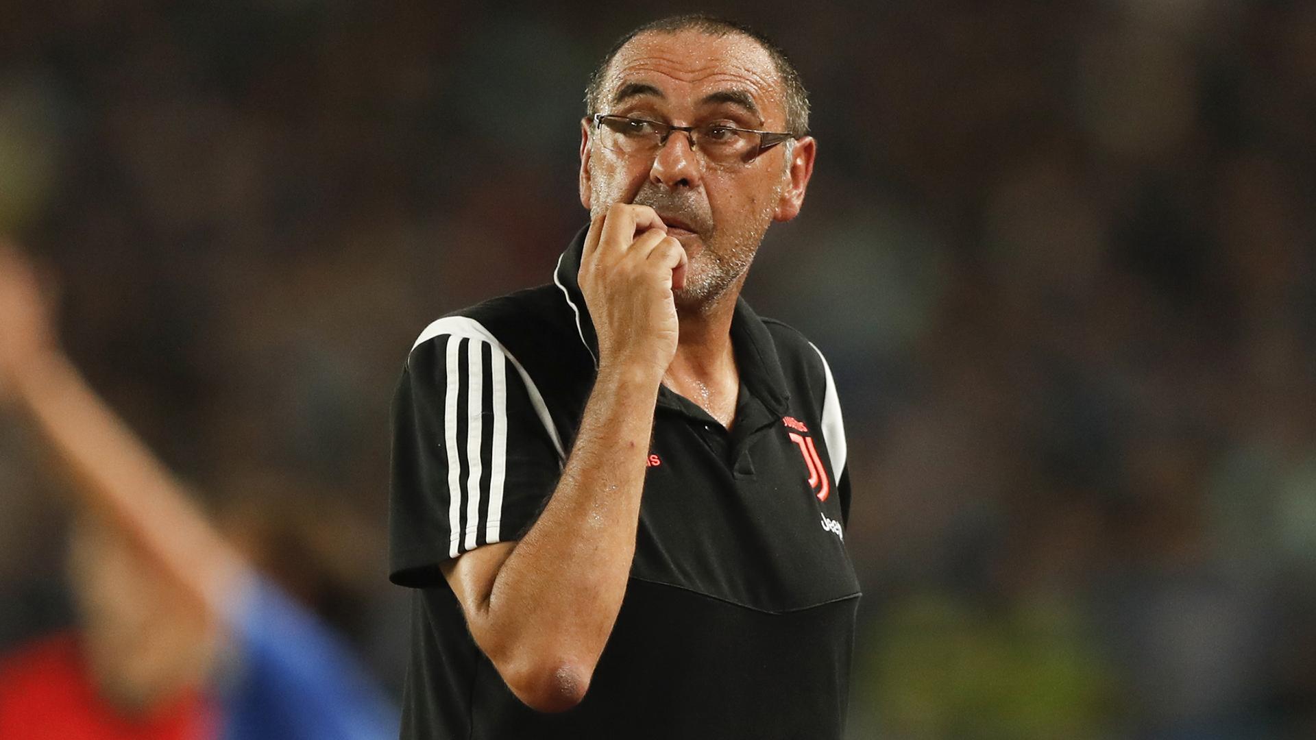 Juve: Sarri, vanno tagliati 6 giocatori