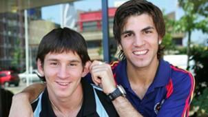 Lionel Messi Cesc Fabregas Barcelona 2005