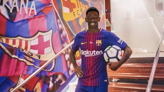 Ousmane Dembele Barcelona GFX
