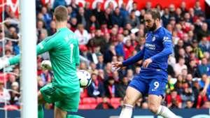 Gonzalo Higuain Chelsea Manchester United 280419
