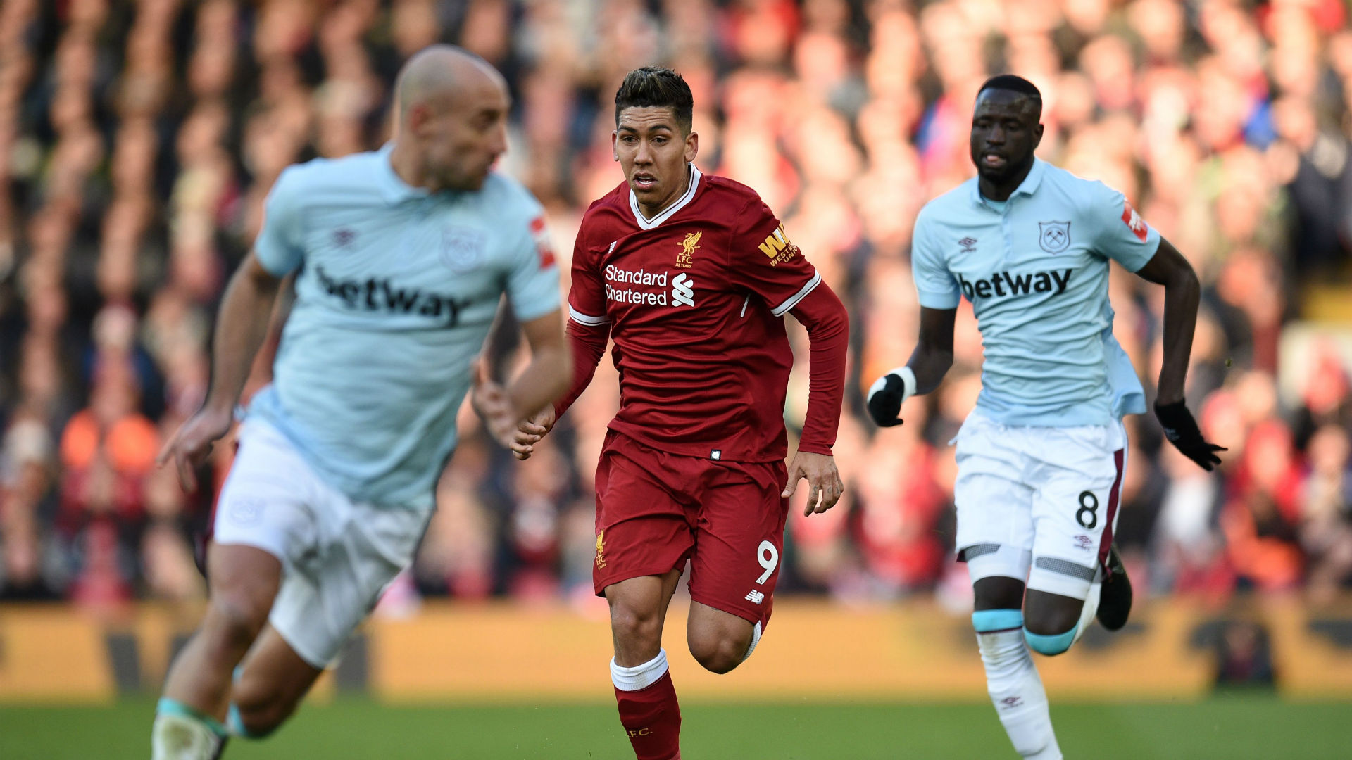 Roberto Firmino, Liverpool vs West Ham