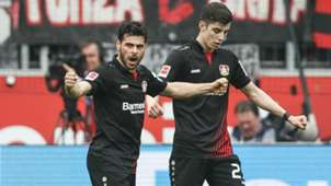 Kevin Volland Bayer Leverkusen 14042018