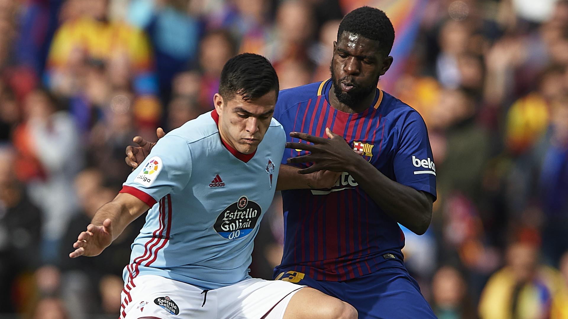 Umtiti Barcelona Celta LaLiga