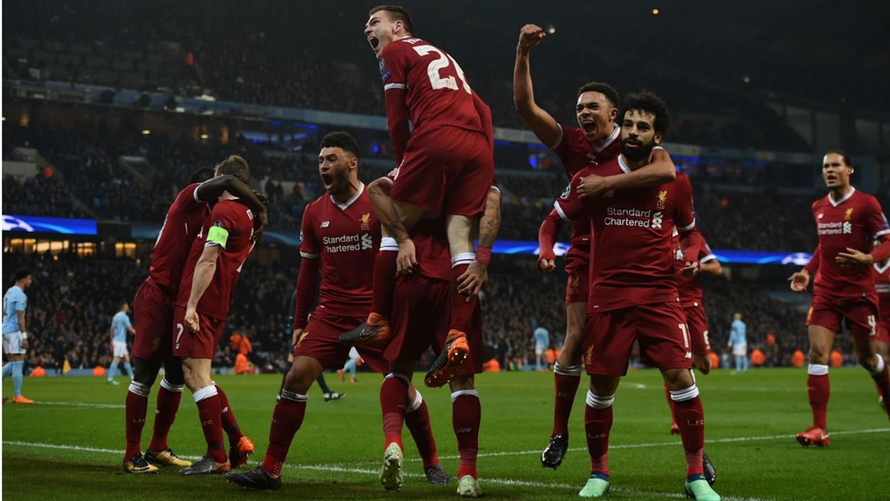 Liverpool Manchester City Champions League