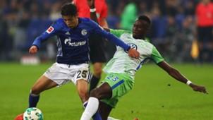 Harit Guilavogui Schalke 04 VfL Wolfsburg 27102017