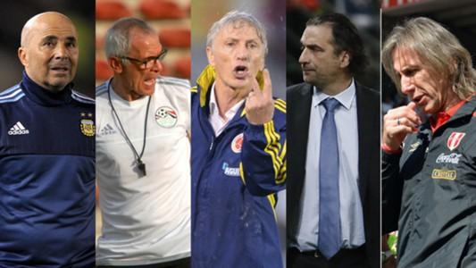 Resultado de imagen para entrenadores argentinos en rusia 2018
