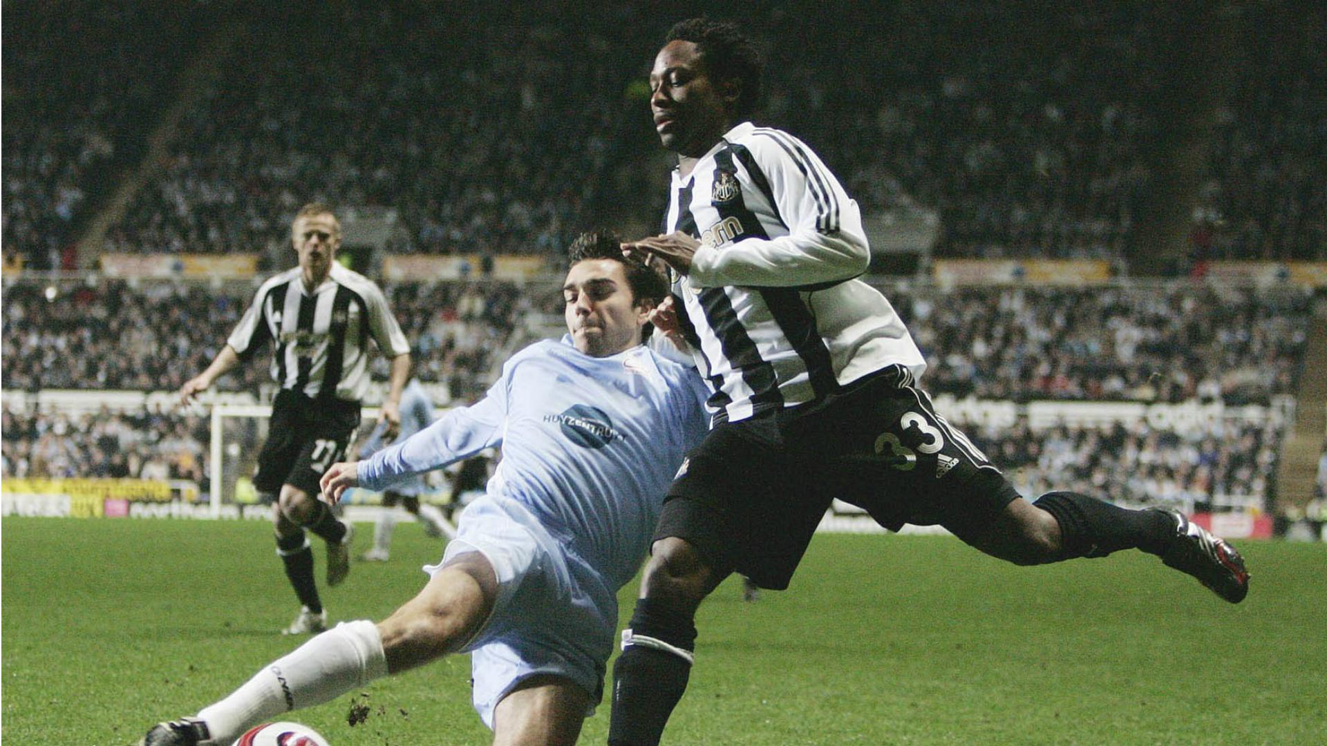 Zulte Waregem Newcastle United, 2006