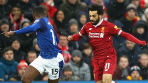 Mohamed Salah Liverpool Everton