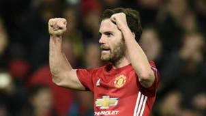 Juan Mata Manchester United Rostov Europa League 17032017