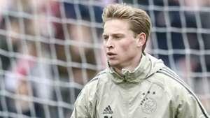 Frenkie de Jong, Ajax, 01262019