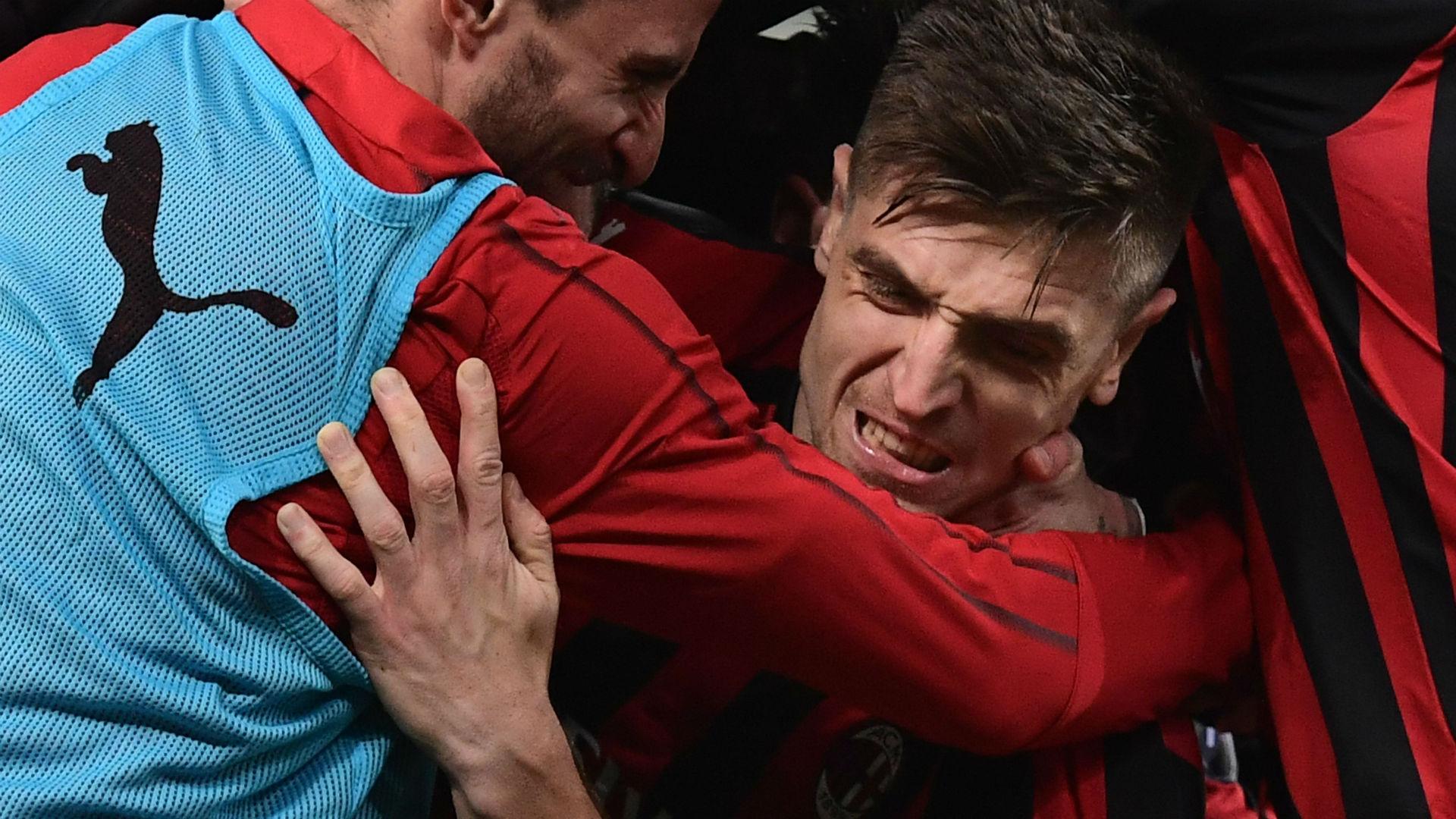 Biglia torna al gol contro il Chievo e lo dedica al figlio