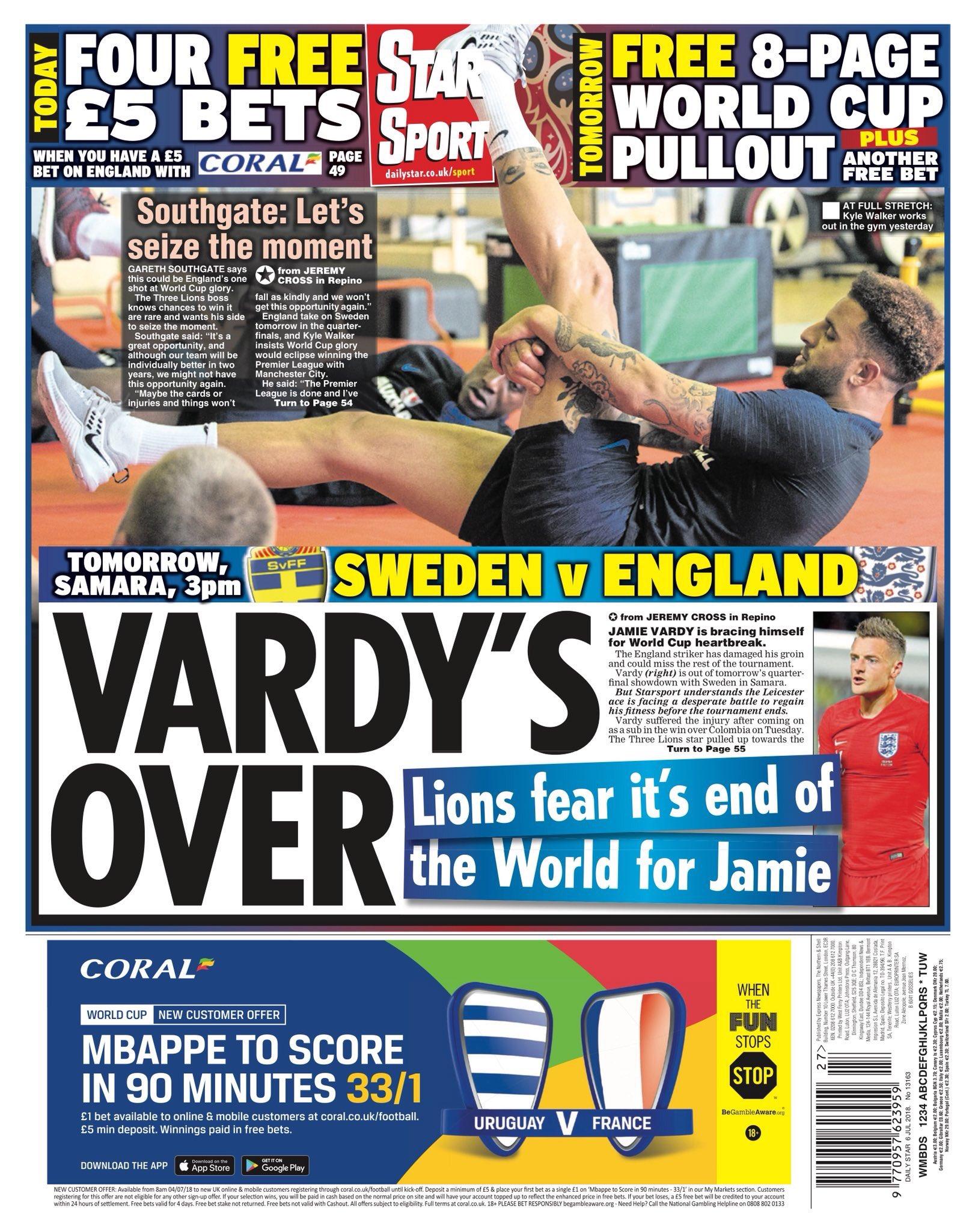 صحف كأس العالم