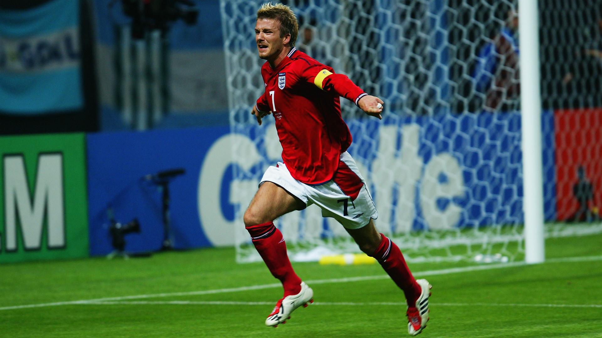 David Beckham 2002 World Cup