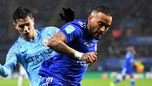 Danny Simpson Brahim Diaz Leicester City Manchester City