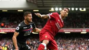 Roberto Firmino Liverpool Crystal Palace