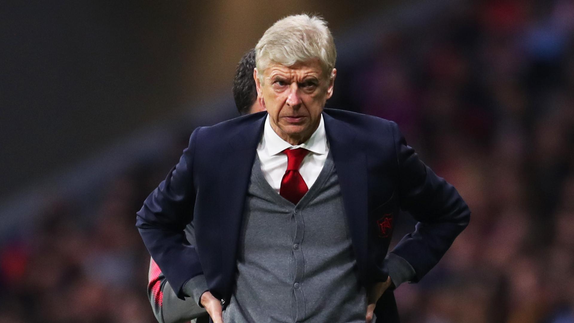 Arsene Wenger Arsenal Atletico Madrid