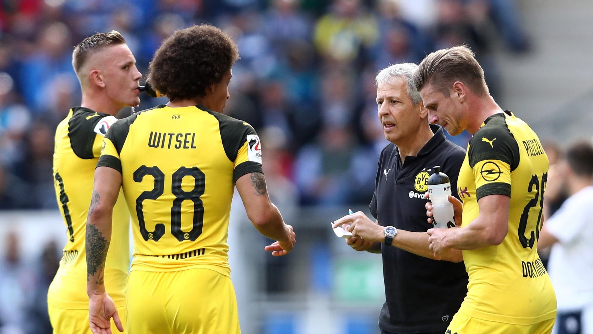 Lucien Favre Borussia Dortmund 22092018