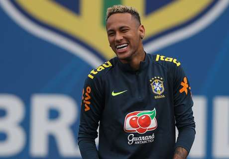 Neymar hat vor Costa Rica die Haare wieder schön