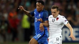 Anthony Martial Burim Kukeli France Albania UEFA Euro 2016 15062016