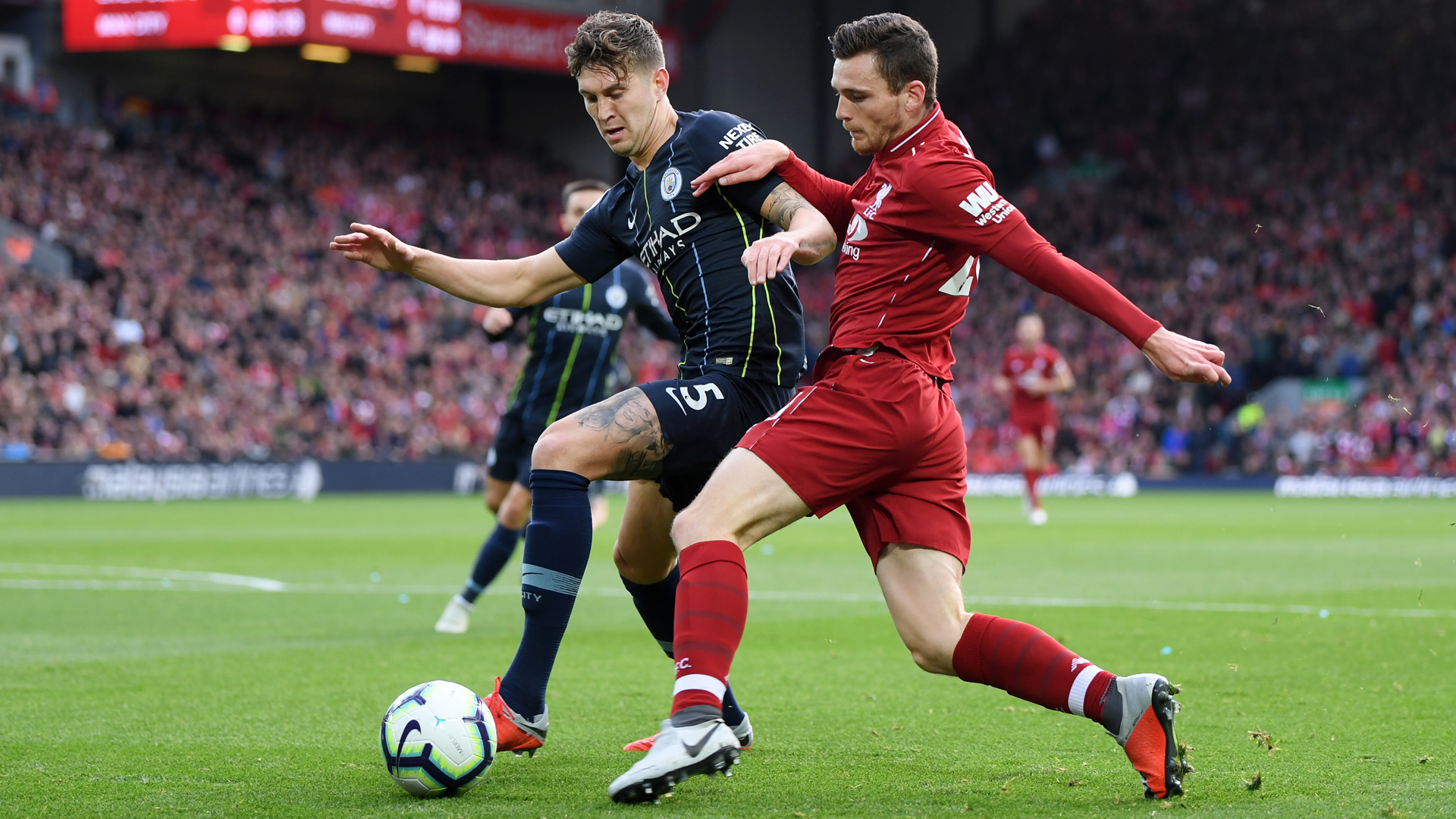 Liverpool Manchester City Robertson Stones 07102018