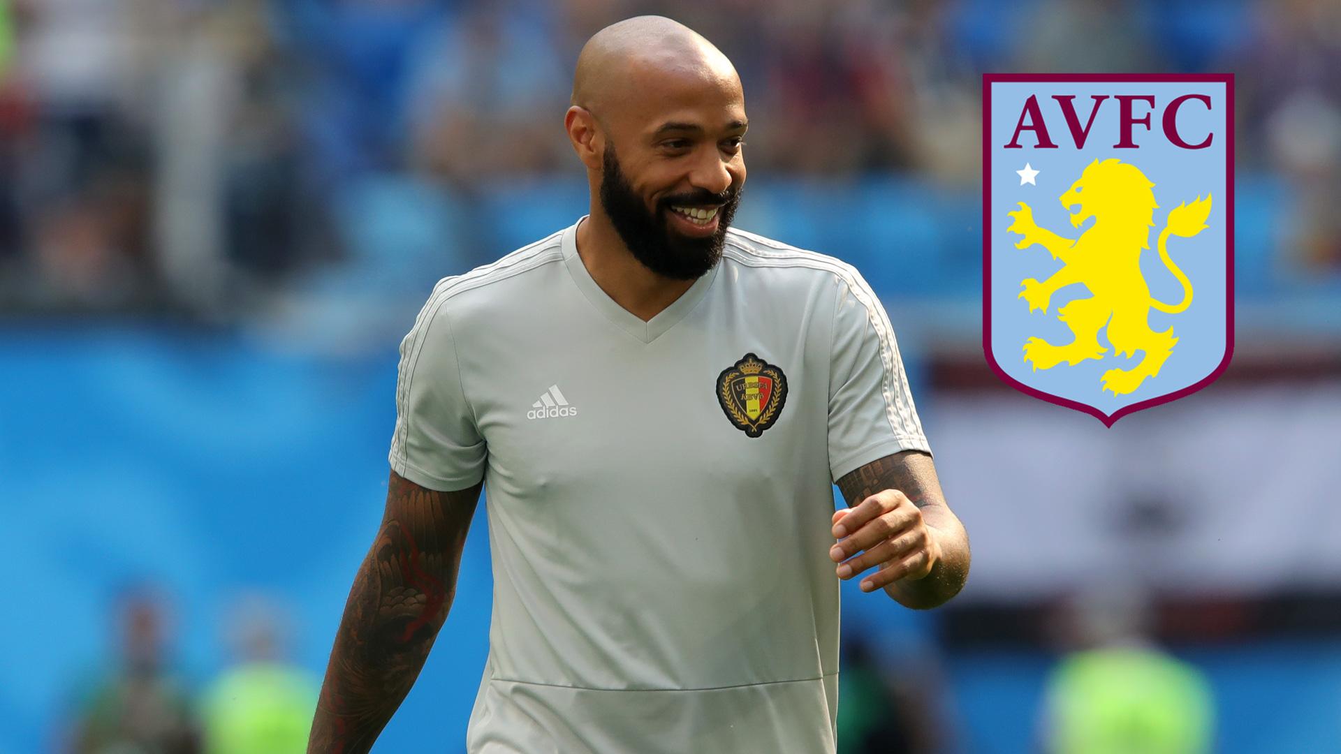 Thierry Henry Aston Villa