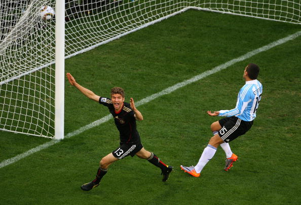 Thomas Muller vs Argentina