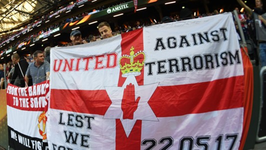 Manchester United Europa League banner