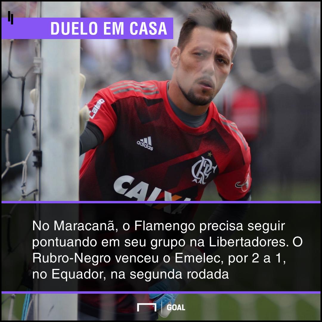GFX bet365 Flamengo x Emelec