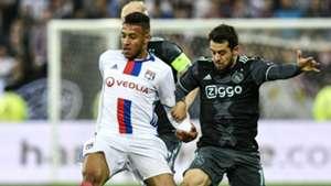 Corentin Tolisso Amin Younes Lyon Ajax UEFA Europa League 11052017