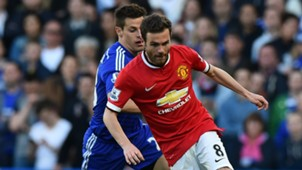 Juan Mata Manchester United 2017-18