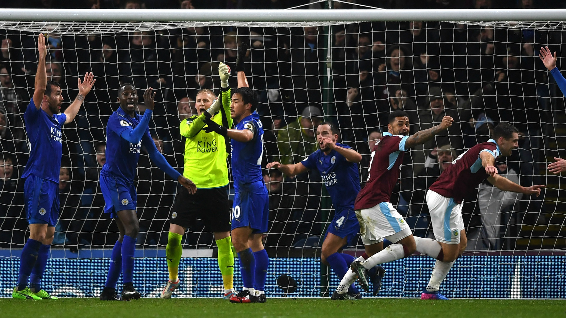 Burnley Leicester