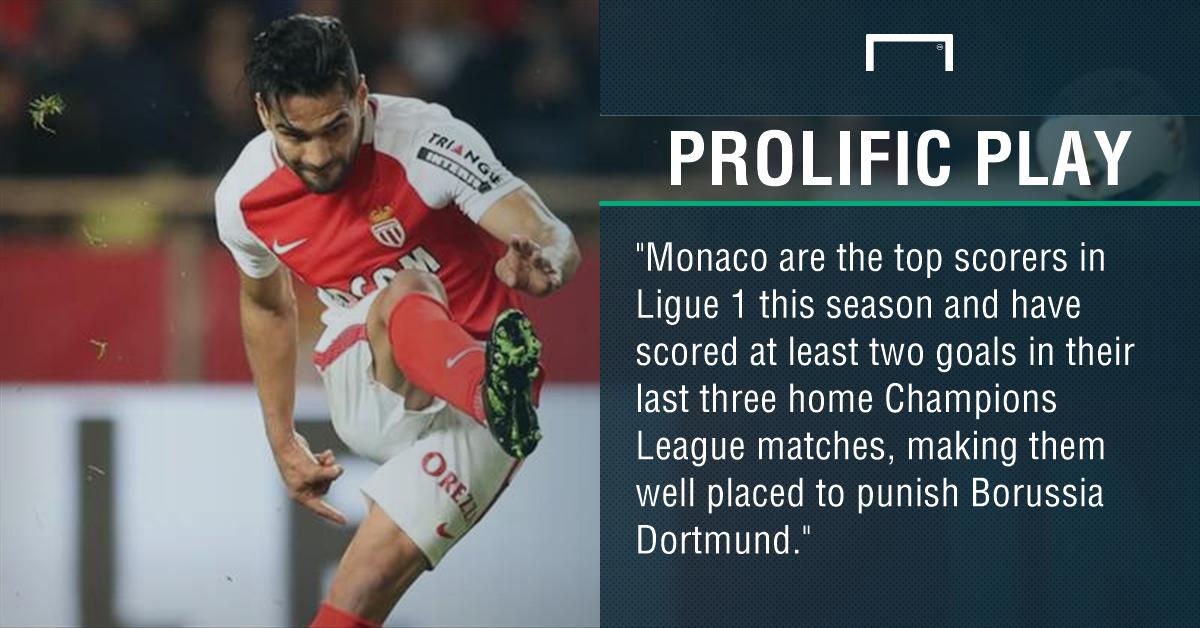 GFX Monaco Borussia Dortmund betting