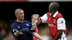 Roy Keane Manchester United Patrick Vieira Arsenal 1999