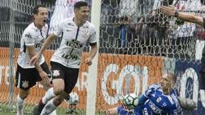 Rodriguinho, Balbuena e Prass - Corinthians x Palmeiras - 5/11/2017